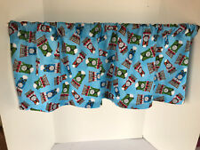 Valance Thomas the Train Custom Made Window Treatment Boys Room 42 x 14