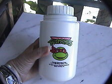 "teenage mutant ninja turtles thermos 6-1/2"" 1989 good condition"