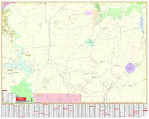 Harris County, GA Wall Map