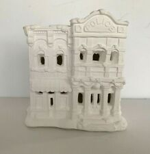 """California Creations Ready to Paint Plaster """"POLICE STATION""""  Unpainted SE184"""