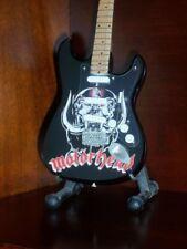 Mini Guitar MOTORHEAD LEMMY KILMISTER GIFT Memorabilia FREE STAND