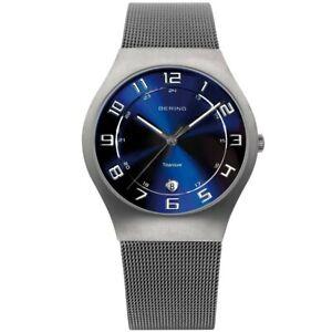 Bering Men's Wristwatch Slim Classic - 11937-078 Meshband