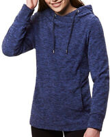 Regatta Kizmit Womens Fleece Hoody Blue Soft Touch Casual Loose Stylish Sweater