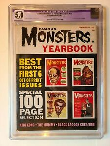 FAMOUS MONSTERS OF FILMLAND 1962 YEARBOOK FIRST ANNUAL CGC 5.0