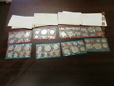1973 Uncirculated sets (4) with original envelopes