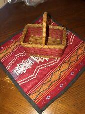 American Girl Saige's Picnic Set- Basket & Blanket Only