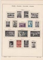 poland 1945 stamps page ref 17522