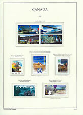 CANADA 2005 LIGHTHOUSE page 2005.6 - BRIDGES Block & SINGLETONS - MNH