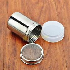 Stainless Chocolate Shaker Icing Sugar Powder Flour Powder Cocoa Coffee Sifter