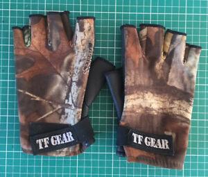 TF Gear Neoprene gloves fingerless - adult size Large