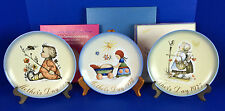 Schmid Hummel Mother's Day Series By Sister Berta Hummel - Lot of 3 Plates