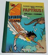 SPIROU reliure album du journal n° 179 intégrale de 1986 recueil bd papyrus be