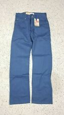 NEW Levi's Boy's 514 Straight Vintage Blue White Tab Pants NWT Size 12 14 16