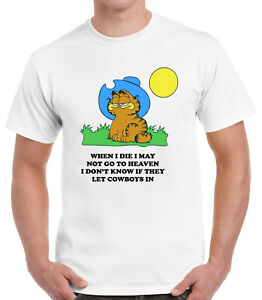 When I Die I May Not Go To Heaven Garfield T-Shirt