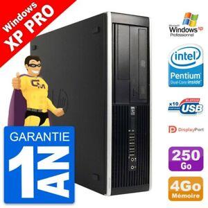 PC HP 8300 Elite SFF Intel G630 RAM 4Go Disque Dur 250Go Windows XP
