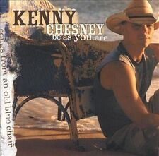 "Kenny Chesney ""Be As You Are (songs from an old blue chair)"" w Guitars Tiki Bars"
