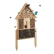 Relaxdays Hôtel À insectes Nature L Abri Refuge Maison abeille Papillon Coccinel