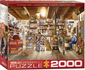 The General Store by Les Ray 2000-Piece Puzzle