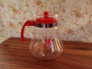 water juice cocktail tea 1.4 liters glass jug pitcher kettle lid kitchen home