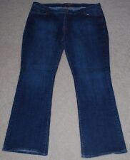 Bitten Sarah Jessica Parker Denim Blue Jeans Womens Plus 22 Reg Stretch Bootcut