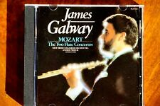 James Galway - Mozart, The Two Flute Concertos  -  CD, VG