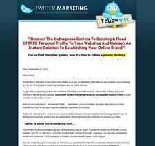 Turnkey Twitter Marketing Website Script Autopilot Business
