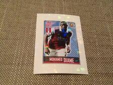 #192 Mohamed Diame West Ham Topps Premier League 2014 sticker BRAZIL ED Pro11