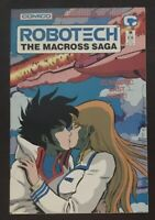 Robotech The Macross Saga #36 first printing 1989 Comico Comic Book Final Issue