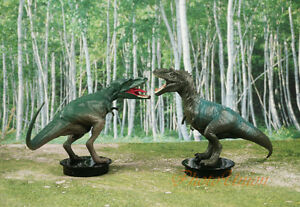 Walking With Dinosaurs T-Rex vs Gorgosaurus Toy Cake Topper Decoration K1101 N P