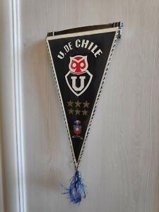 Club Universidad de Chile Pennant Soccer Vintage 10''