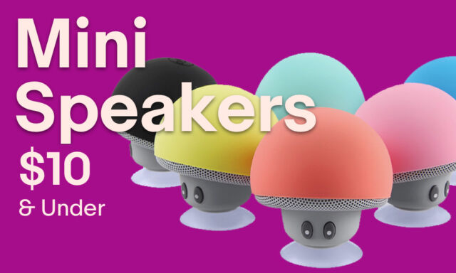 Audio Player Docks & Mini Speakers under $10.00