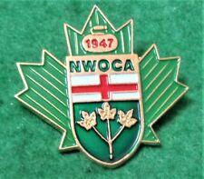 NORTH WEST ONTARIO CURLING ASSOCIATION CANADA Pin / Badge