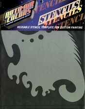 AUTO-AIR COLORS Freestyle # 1 AIRBRUSH STENCIL-TEMPLATE