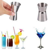 3Size Jigger Einzel Double Shot Cocktail Wein Short Measure Cup Drink Bar P V0F4