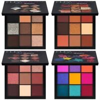 HUDA BEAUTY OBSESSIONS EYESHADOW PALETTE WARM BROWN MAUVE SMOKEY ELECTRIC 9COLOR