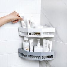 Bathroom Shelf Storage Rack Corner Holder Adhesive Shower Gel Shampoo Basket SA