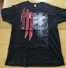 Skrillex Scary Monsters and Nice Sprites Concert T-shirt XL EDM Dub Electro