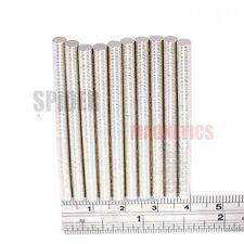 1000 Tiny Magnets 4x0.5 mm Neodymium Disc small neo craft magnet 4mm dia x 0.5mm