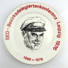 Andenkenteller: SED Bezirksdelegiertenkonferenz Leipzig 1976, 1886-1976, so230