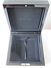 New Chanel VIP Acrylic Watch Jewelry Box Organizer Case RARE