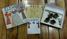 Element: Fire, Wind, Earth, Water (Board Game, 2008) Mind Twister strategy RARE