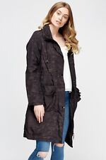 Metalic Sheen Parka Jacket Size 16 Or 14 sale was £55