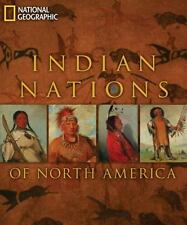 Indian Nations of North America National Geographic 2010 Hardback Like New