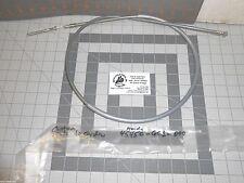 HONDA NU50 45450-GC1-000 BRAKE CABLE NOS 1982-1983 VINTAGE GRAY FREE SHIPPING