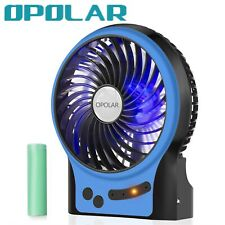 OPOLAR Portable Travel Mini Camping Fan,Rechargeable&USB Handheld Fan,3 Speeds