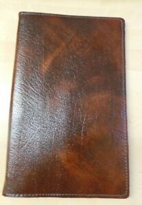 Man's Vintage Brown Long Wallet - Mint Condition