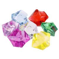 10x Treasure Chest Acrylic Crystal Vase Filler Halloween Christmas Party FavorKK