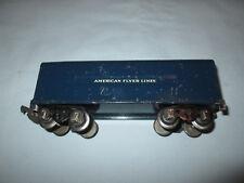 American Flyer #555 O Gauge Prewar Royal Blue Tender. For #556 Locomotive