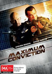 MAXIMUM CONVICTION (2012) [NEW DVD]