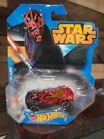Star Wars Hot Wheels Darth Maul Die Cast Car DISNEY Brand New Factory Sealed